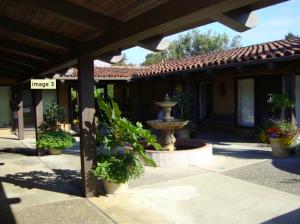 Saratoga Office Courtyard