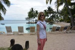 Laura Tahiti beach